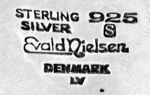 Women's or Men's Evald Nielsen Danish Silver Coffee Service, circa 1930 For Sale