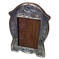 Art Nouveau Silver Photograph Frame Birmingham 1906