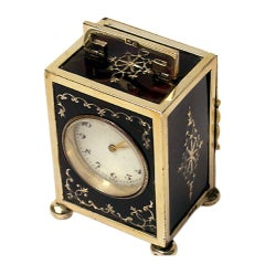 Silver Carriage Clock Goldsmiths Co