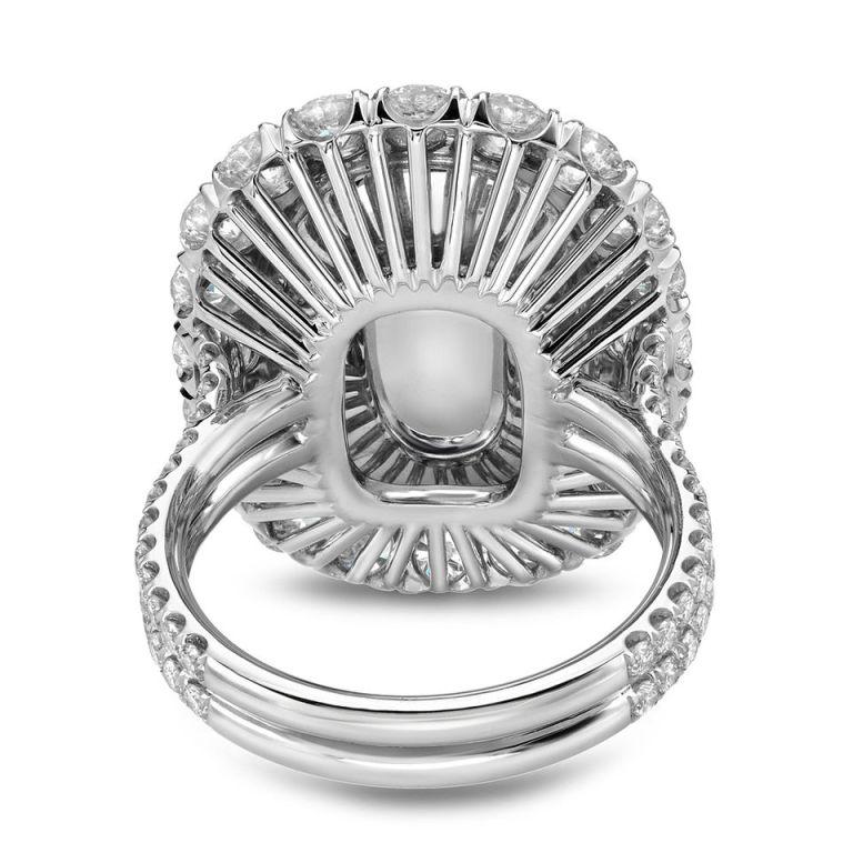 TAMIR Ultra Rare Paraiba Tourmaline, Sapphire and Diamond Ring. 4