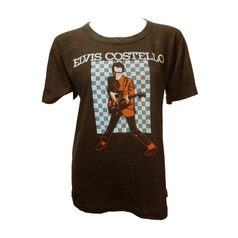 vintage elvis costello t shirt eBay