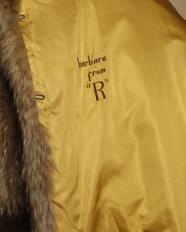 Vintage Tanuki Raccoon Fur Coat image 4