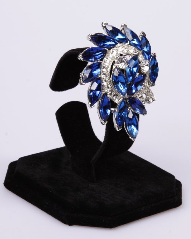 WEISS Statement Brooch at 1stdibs