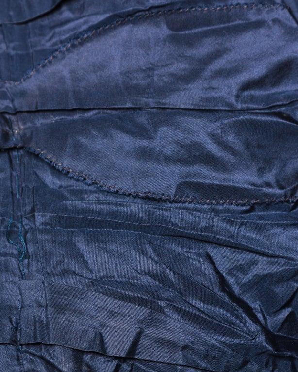 Couture Mingolini Gugenheim Vintage Beaded Dress+ Jacket For Sale 5