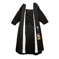Deadstock Sandra Sage for Joseph Magnin Dress + Coat Set