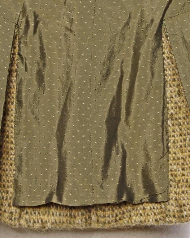 Guy Laroche Collection Mustard Wool Tweed Jacket 3