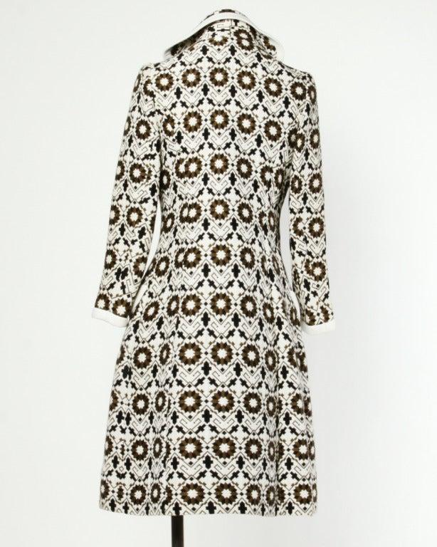 Lilli Ann 70s Vintage Tapestry Coat + Dress Set- 2-Pc Ensemble 4