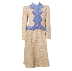 Koos Van Den Akker for Neiman-Marcus Jacket + Skirt Suit