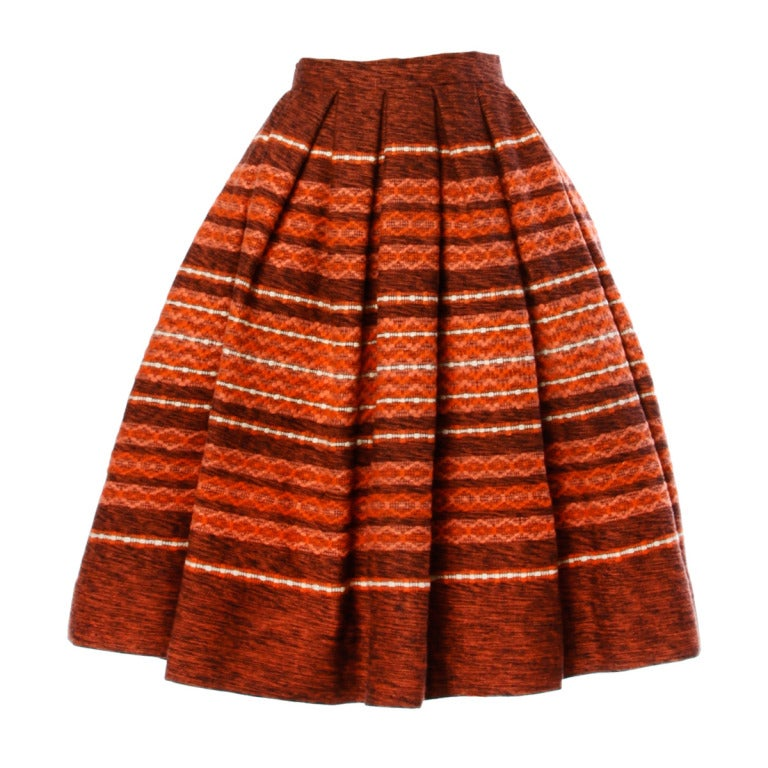 how to make a 50s circle skirt