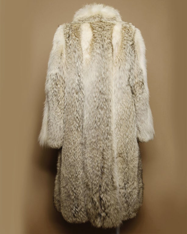 Vintage Coyote Fur Coat with Appraisal 2
