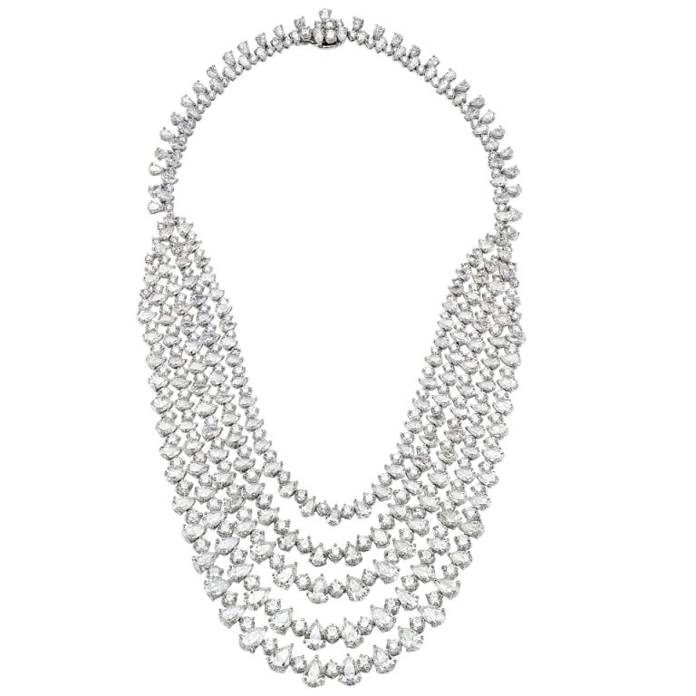 An Outstanding Diamond Necklace by  David Rosenberg