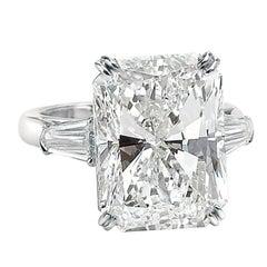 David Rosenberg 15.03 Carat Radiant Cut GIA Certified Diamond Engagement Ring