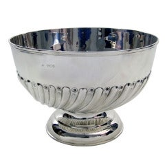 Antique Silver Rose Bowl