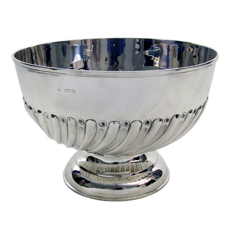 Antique Silver Rose Bowl At 1stdibs
