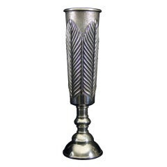 Modern Silver Goblet
