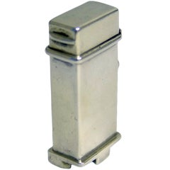 Antique silver Edwardian Butt Marker with Combined Cartridge Ext