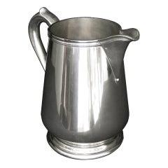 American Sterling Silver Jug
