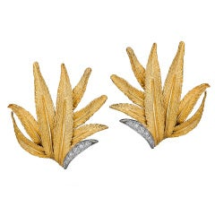 Sterle Diamond and Gold Earrings