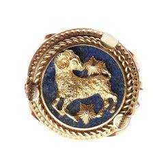 A Van Cleef Aries Pendant