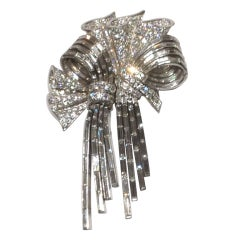 A Superb Rene Boivin double clip Brooch
