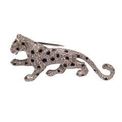 An Everlasting Cartier Panther Brooch