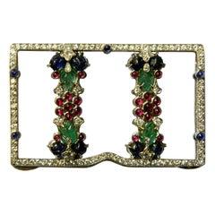 A Unique Tutti Frutti Object of Vertu by Cartier