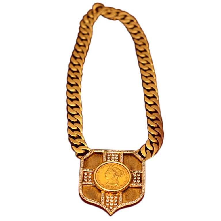 1960s Buccellati Coin Necklace