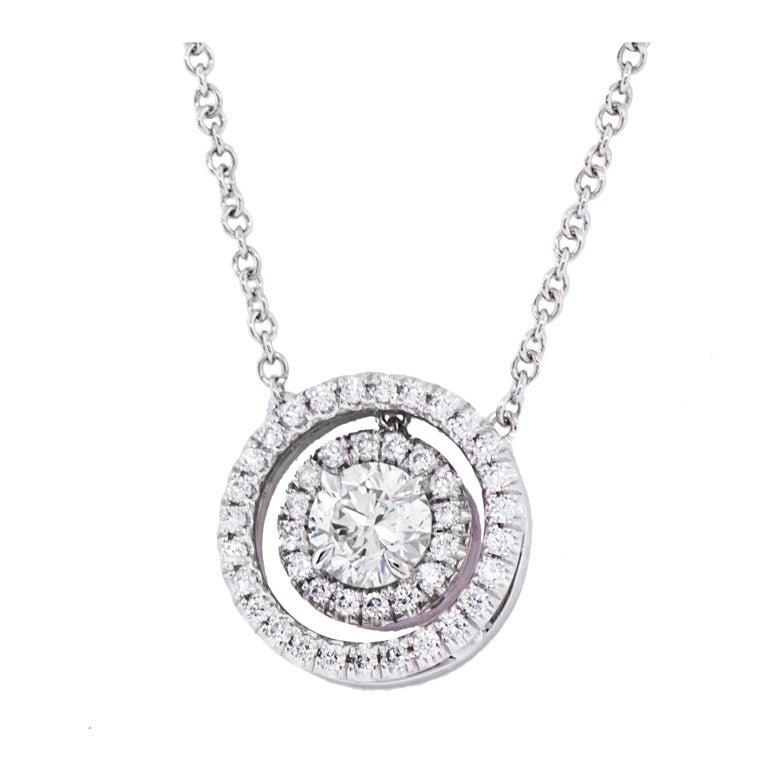 beautiful diamond pendant for sale at 1stdibs