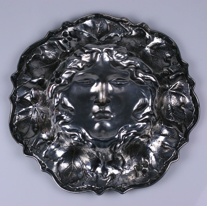 Art Nouveau American Silver Bowl In Excellent Condition For Sale In Riverdale, NY