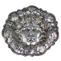 Art Nouveau American Silver Bowl