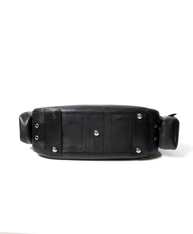 f61d3f9e4975 Women s Dior Street Chic Reporter Handbag Black Leather For Sale