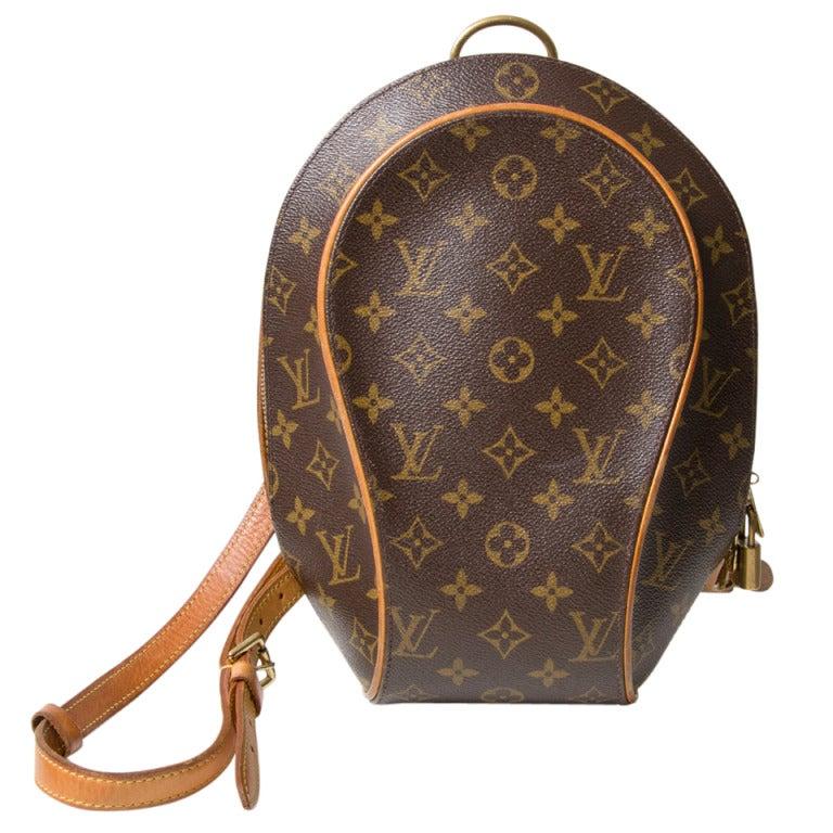 louis vuitton monogram ellipse backpack bag at 1stdibs. Black Bedroom Furniture Sets. Home Design Ideas
