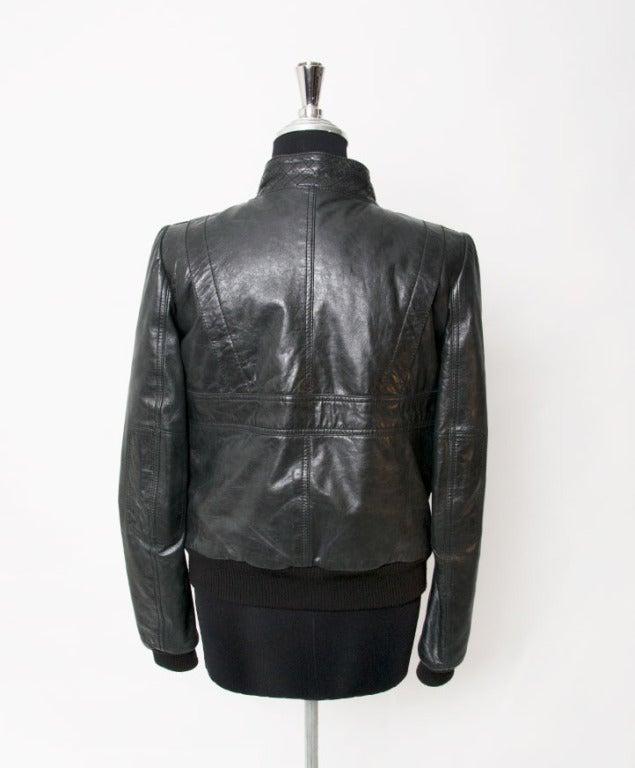 Balenciaga Grey to Black Bomber Jacket 3