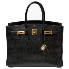Hermès Black Birkin 35