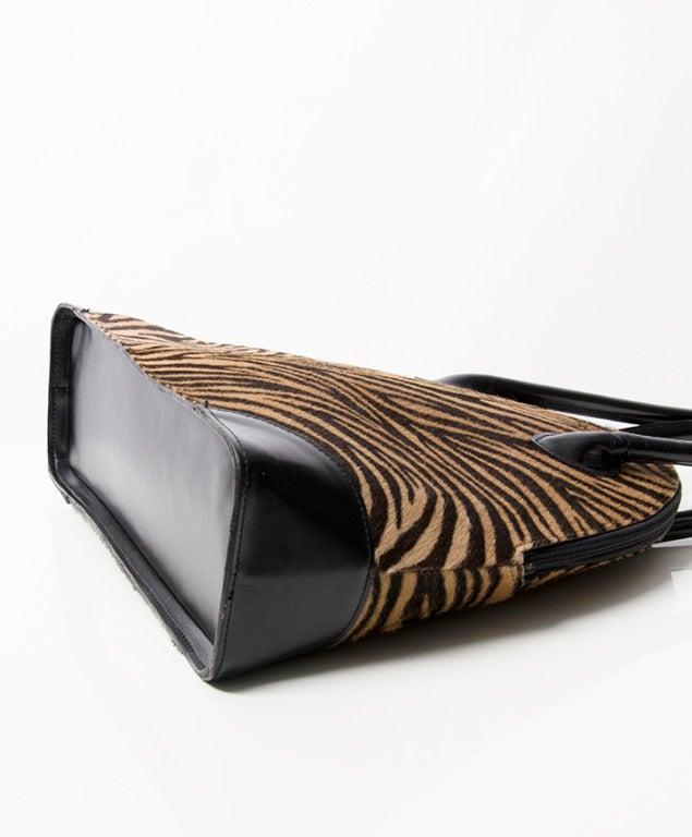 Zebra Print Shoulder Bags 31