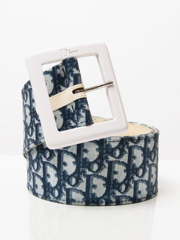 Christian Dior Monogram Belt 2