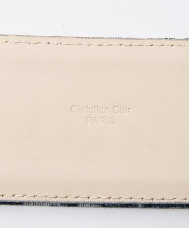 Christian Dior Monogram Belt 3