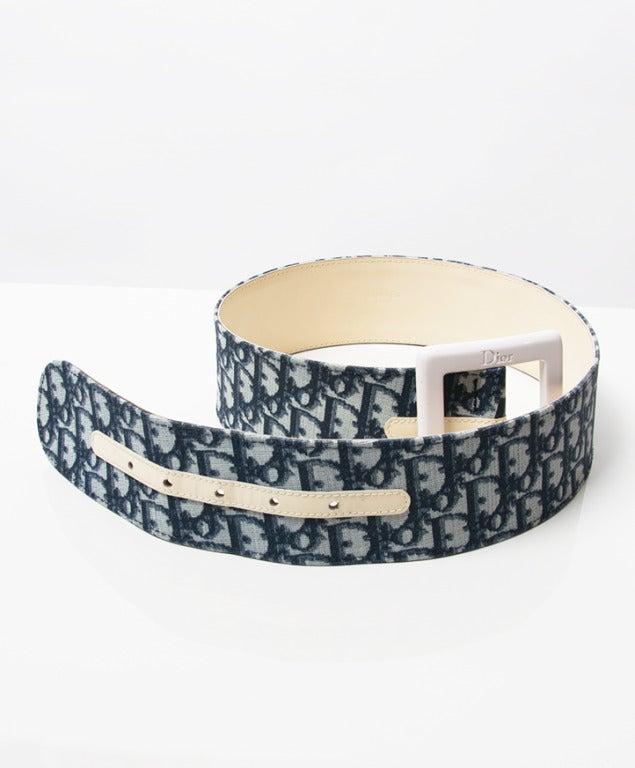 Christian Dior Monogram Belt 4