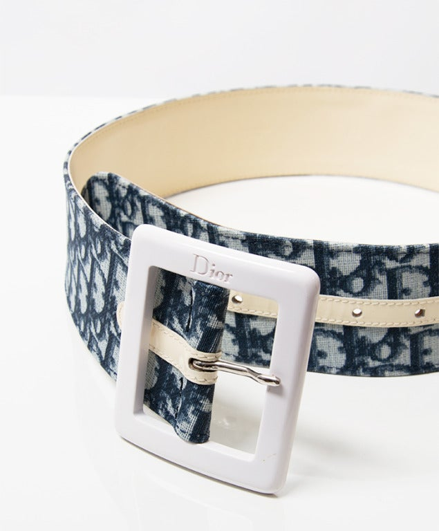 Christian Dior Monogram Belt 5