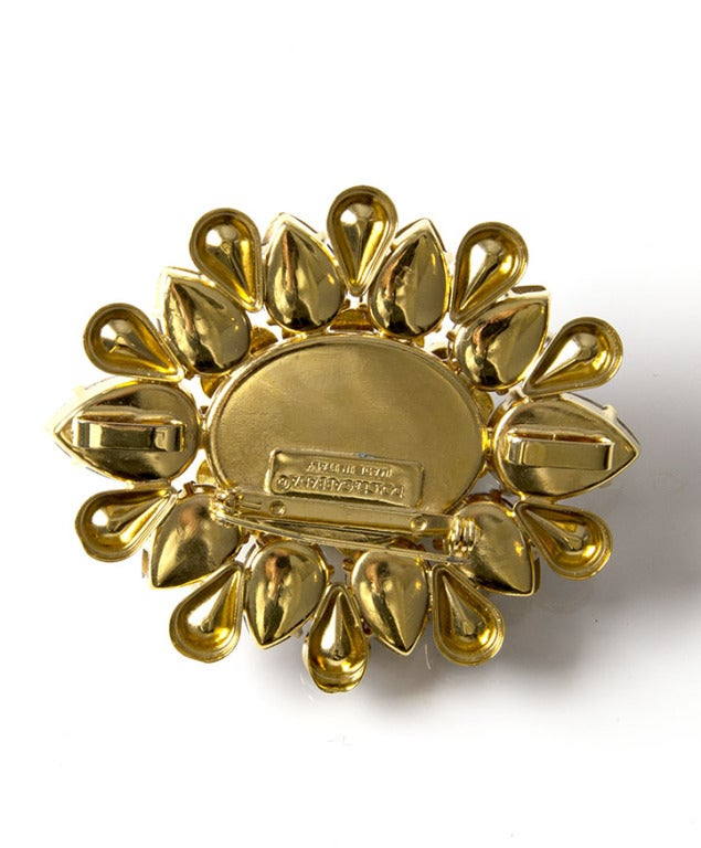 Dolce & Gabbana Turquoise Brooch 3