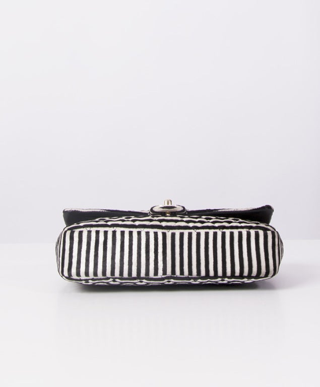 7e0599efec9c72 CHANEL STRIPED 2.55 BAG LIMITED EDITION For Sale 2