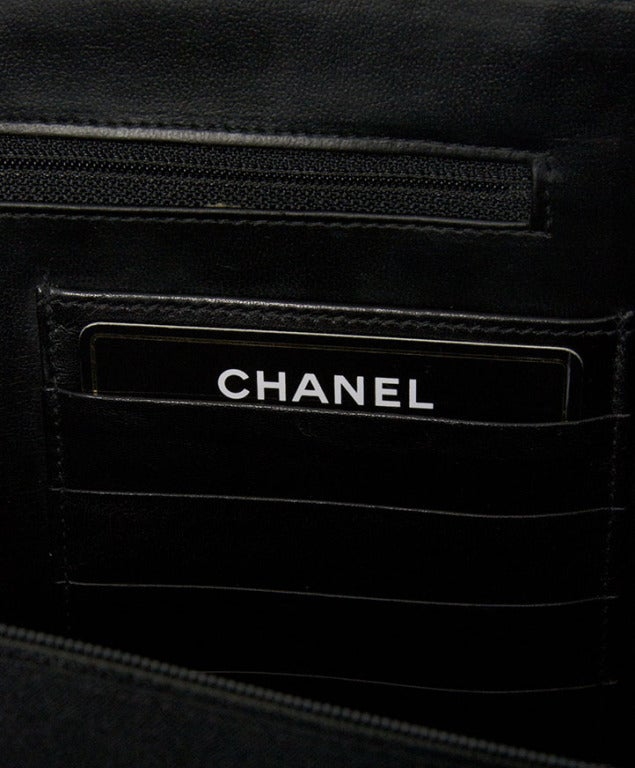Chanel Vintage Quilted Lambskin Classic Executive Briefcase Bag 5