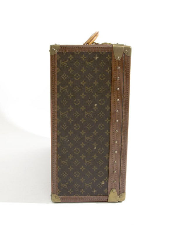 Louis Vuitton Monogram Alzer 80 Hard Suitcase Trunk Luggage image 2