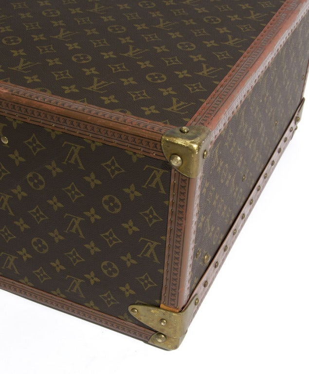 Louis Vuitton Monogram Alzer 80 Hard Suitcase Trunk Luggage image 8