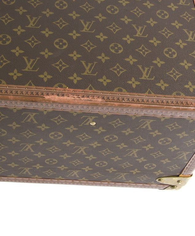 Louis Vuitton Monogram Alzer 80 Hard Suitcase Trunk Luggage image 10