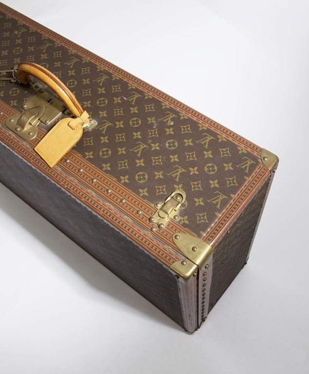 Louis Vuitton Monogram Alzer 80 Hard Suitcase Trunk Luggage image 9