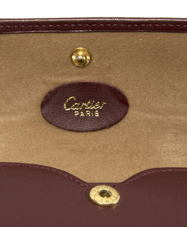 Cartier Round Sunglasses 90s Gold 9