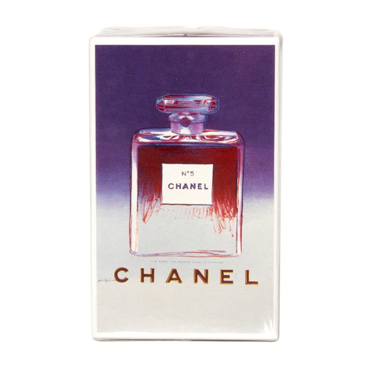 Chanel N5 Parfum Limited Andy Warhol 50ml At 1stdibs