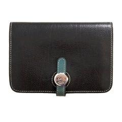 Hermes Dogon Compact Wallet Portfeuille
