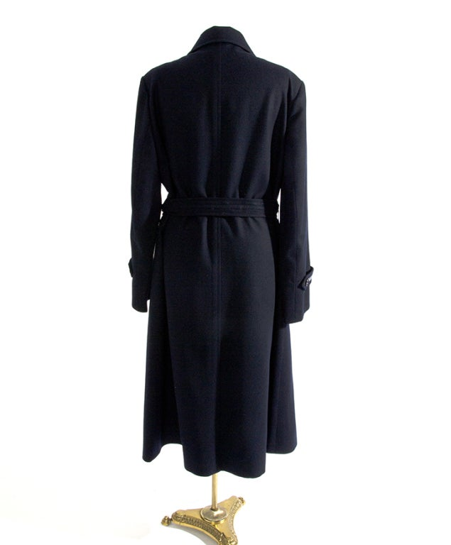 1. Best Mid-Length Trench Coat: Tommy Hilfiger Women's Double Breasted Classic Wool Coat